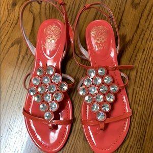Vince Camuto jeweled sandal